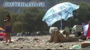 Sougia - naturist beach - Crete | FKK-Strand - Kreta, Griechenland